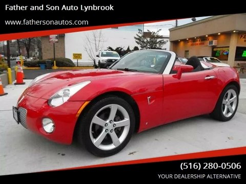 2008 Pontiac Solstice for sale in Lynbrook, NY