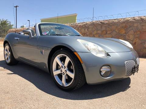 2006 Pontiac Solstice for sale in El Paso, TX