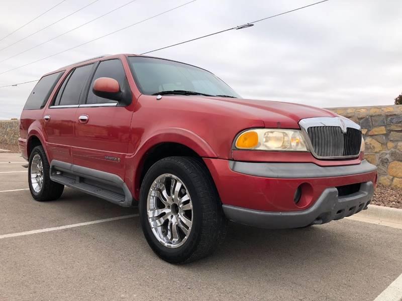 1998 Lincoln Navigator 4dr 4wd Suv In El Paso Tx