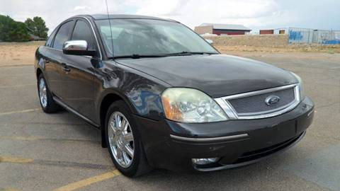 2007 Ford Five Hundred for sale in El Paso, TX