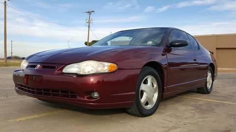 2001 Chevrolet Monte Carlo for sale in El Paso, TX