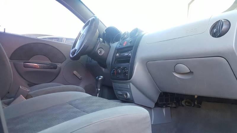 2004 Chevrolet Aveo 4dr Sedan In El Paso Tx Eastside Auto Sales
