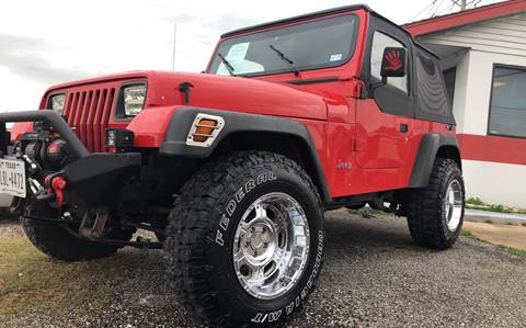 1990 Jeep Wrangler for sale in Texas City, TX