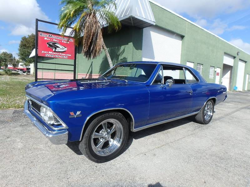 1966 Chevrolet Chevelle Ss396 In Fort Myers Fl Rose Motorsports Inc