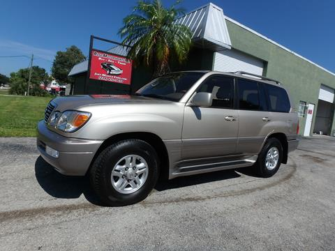 2000 Lexus LX 470 for sale in Fort Myers, FL
