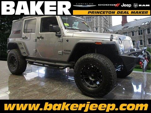 2016 Jeep Wrangler Unlimited for sale in Princeton NJ