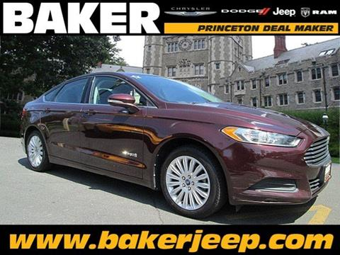 2013 Ford Fusion Hybrid for sale in Princeton, NJ