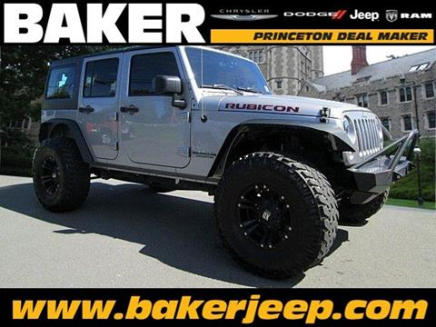 2015 Jeep Wrangler Unlimited for sale in Princeton NJ