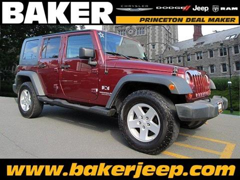 2008 Jeep Wrangler Unlimited for sale in Princeton NJ