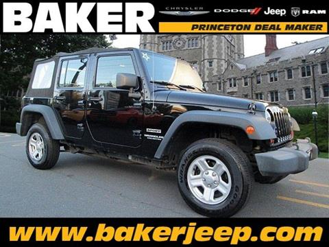 2010 Jeep Wrangler Unlimited for sale in Princeton NJ