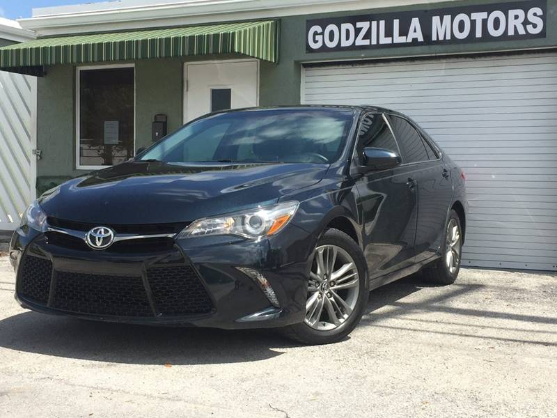 2016 TOYOTA CAMRY LE 4DR SEDAN black this one is ready to drive home and show off  dont wait