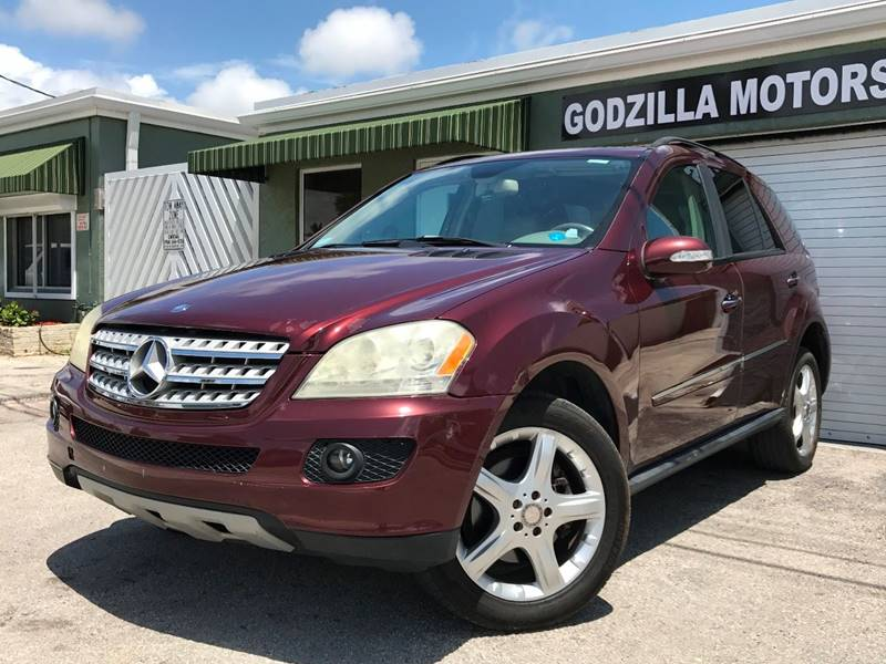 2008 MERCEDES-BENZ M-CLASS ML 350 AWD 4MATIC 4DR SUV red this one is ready to drive home and show