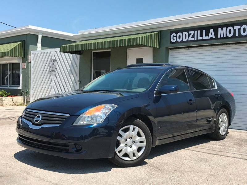 2008 NISSAN ALTIMA 25 S SULEV 4DR SEDAN CVT blue this one is ready to drive home and show off