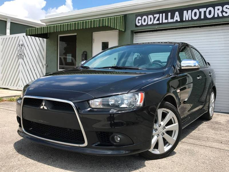 2012 MITSUBISHI LANCER GT 4DR SEDAN CVT black this one is ready to drive home and show off