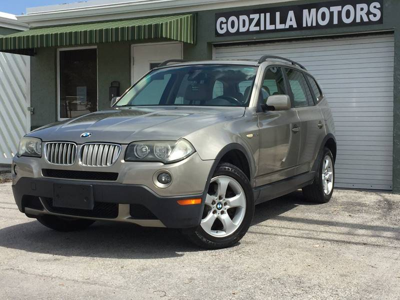 2008 BMW X3 30SI AWD 4DR SUV tan this one is ready to drive home and show off dont wait to