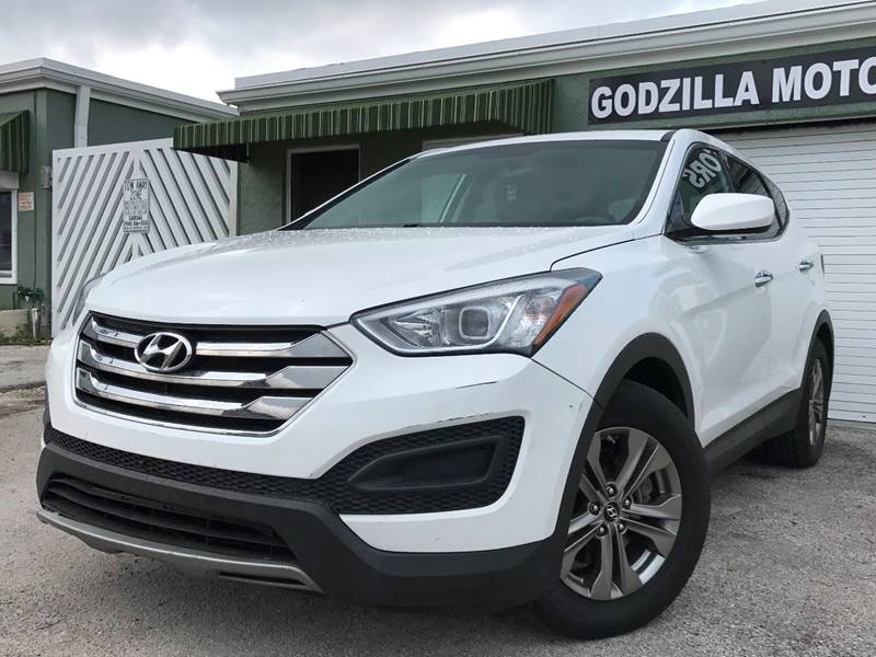2014 HYUNDAI SANTA FE SPORT 24L 4DR SUV white this one is ready to drive home and show off