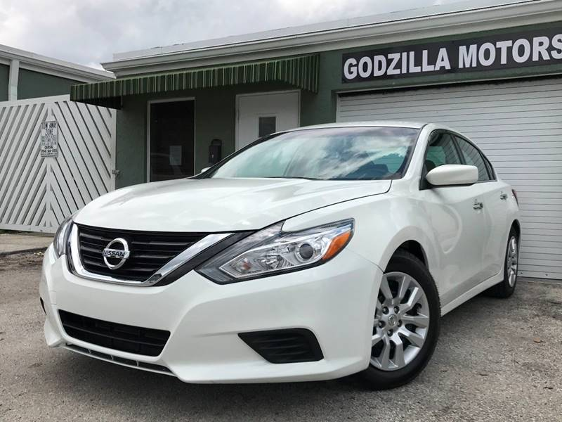 2016 NISSAN ALTIMA 25 SV 4DR SEDAN white this one is ready to drive home and show off   don