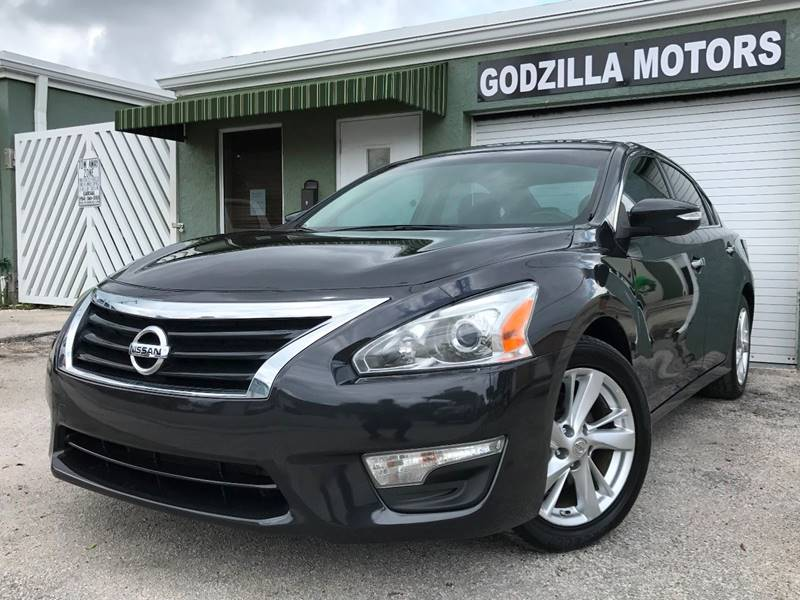 2013 NISSAN ALTIMA 25 SV 4DR SEDAN gray this one is ready to drive home and show off   dont