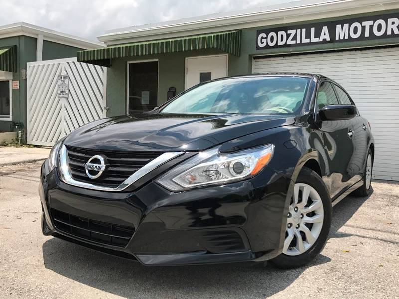 2016 NISSAN ALTIMA 25 SL 4DR SEDAN black this one is ready to drive home and show off   don