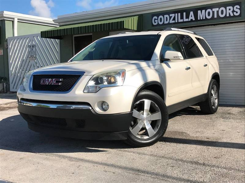 2011 GMC ACADIA SLT 1 4DR SUV white this one is ready to drive home and show off   dont wait