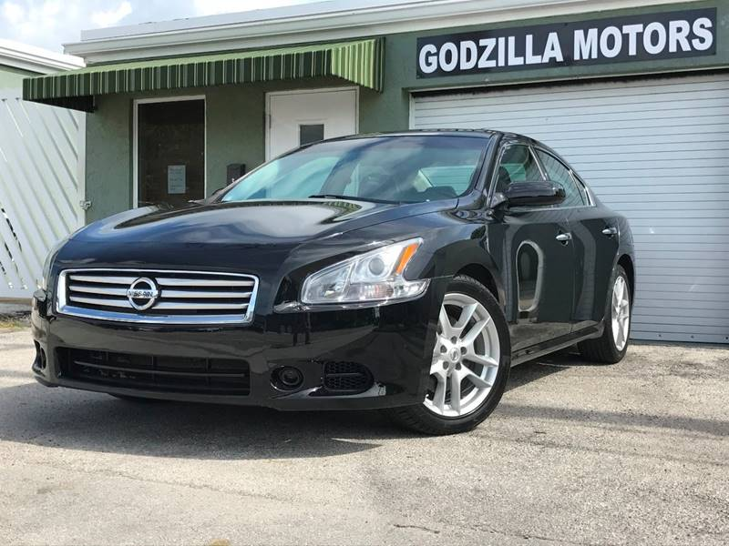 2014 NISSAN MAXIMA 35 SV 4DR SEDAN black this one is ready to drive home and show off   don