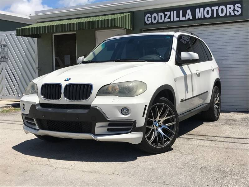 2008 BMW X5 30SI AWD 4DR SUV white door handle color - body-color front bumper color - body-col