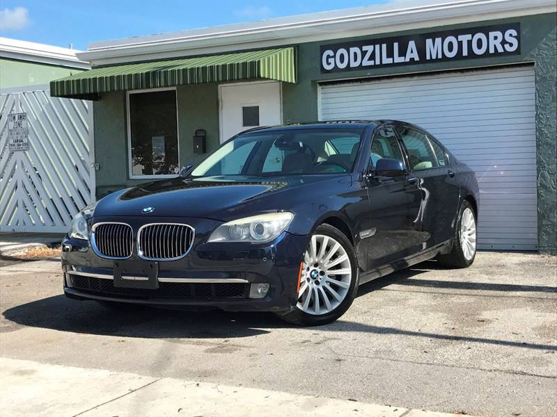 2009 BMW 7 SERIES 750LI 4DR SEDAN blue front bumper color - body-color grille color - chrome mi