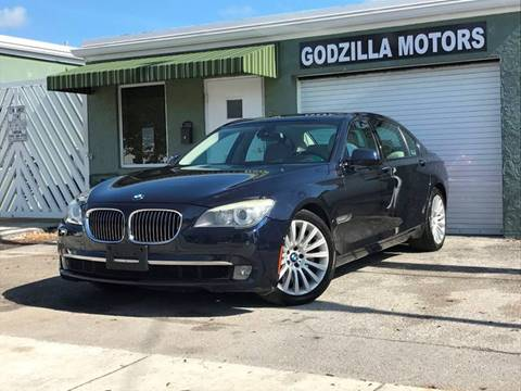 2009 BMW 7 Series for sale in Fort Lauderdale, FL