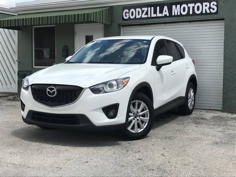 2013 MAZDA CX-5 TOURING 4DR SUV white exhaust - dual tip exhaust tip color - metallic rear spoi