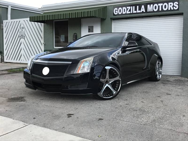 2011 CADILLAC CTS 36L 2DR COUPE black exhaust - dual tip door handle color - body-color exhaus