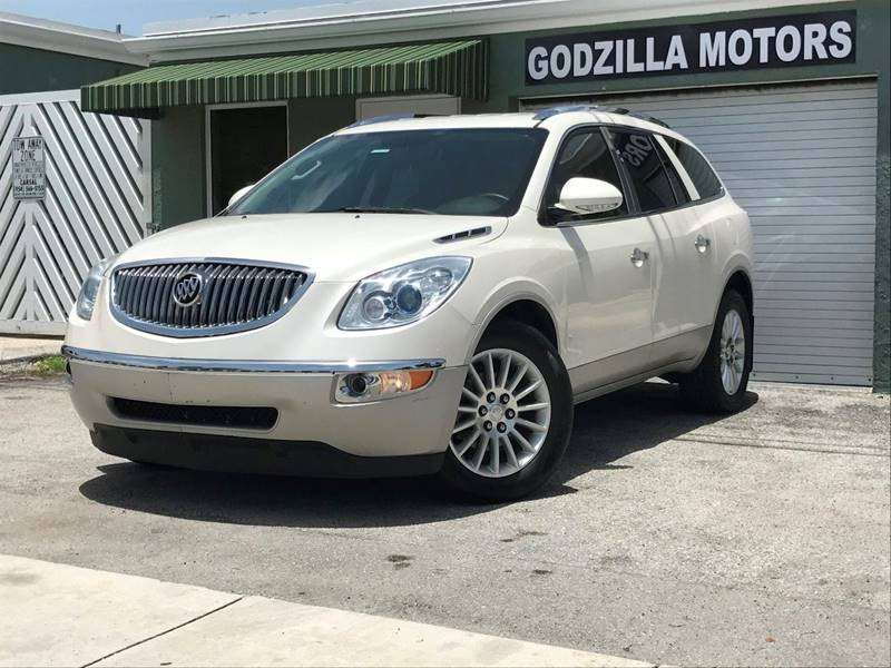 2011 BUICK ENCLAVE CXL 1 4DR CROSSOVER W1XL white exhaust - dual tip exhaust tip color - chrome