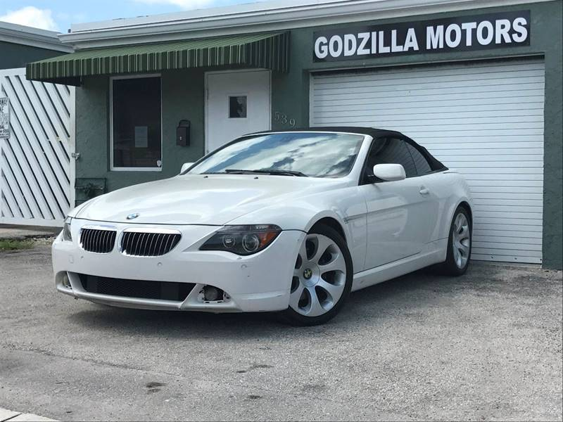 2005 BMW 6 SERIES 645CI 2DR CONVERTIBLE white this one is ready to drive home and show off do