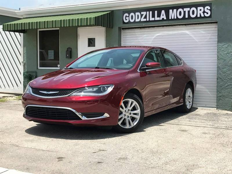 2015 CHRYSLER 200 LIMITED 4DR SEDAN burgundy exhaust - hidden active grille shutters door handl