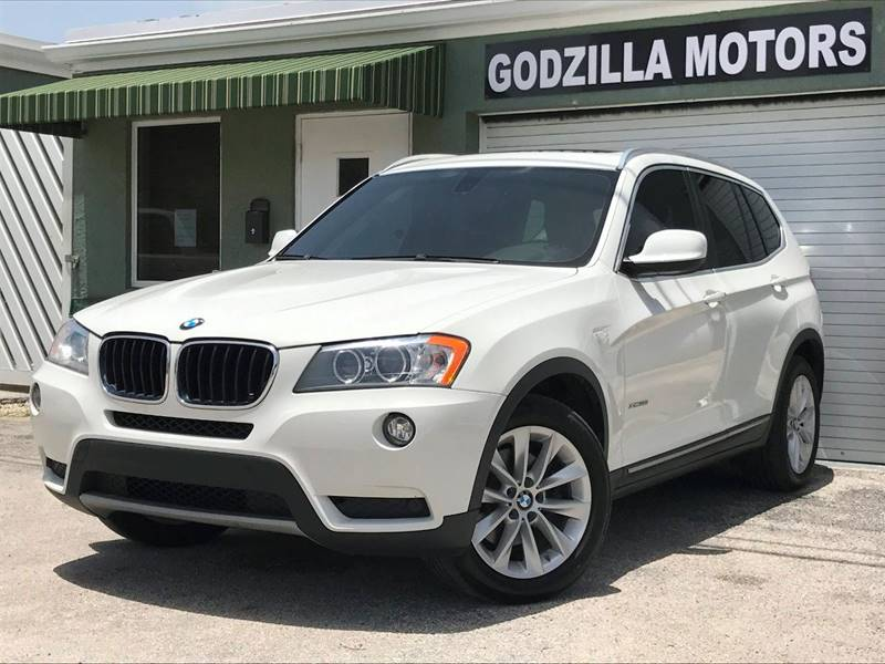 2013 BMW X3 XDRIVE28I AWD 4DR SUV white exhaust - dual tip door handle color - body-color exhau