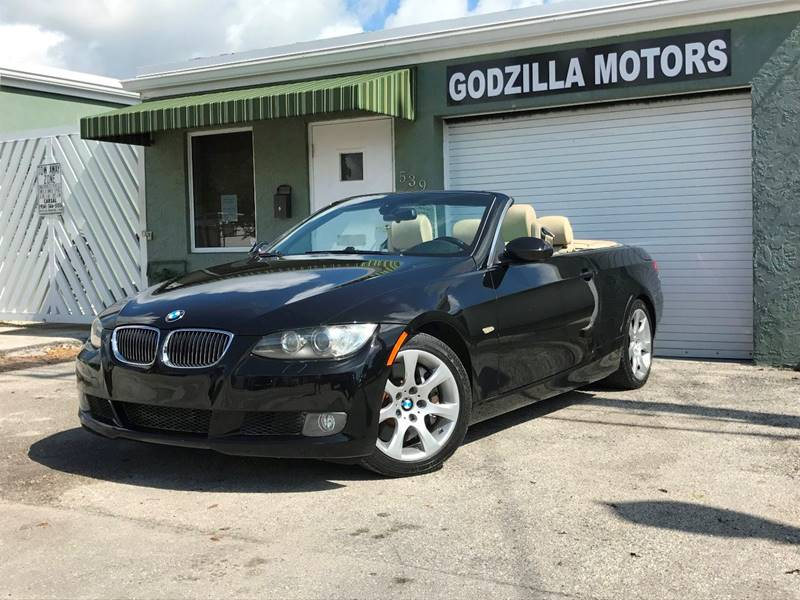 2008 BMW 3 SERIES 335I 2DR CONVERTIBLE black grille color - chrome air filtration armrests - re