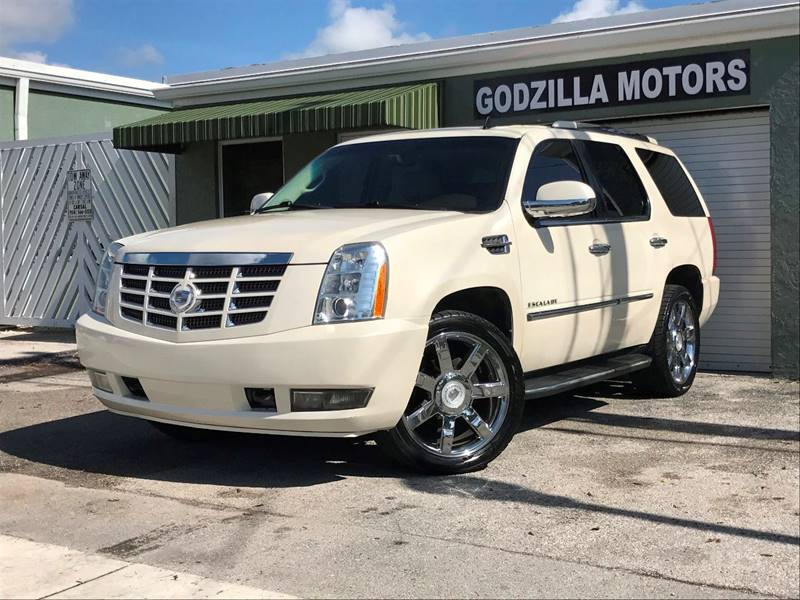 2008 CADILLAC ESCALADE BASE AWD 4DR SUV white running boards - step body side moldings - body-co