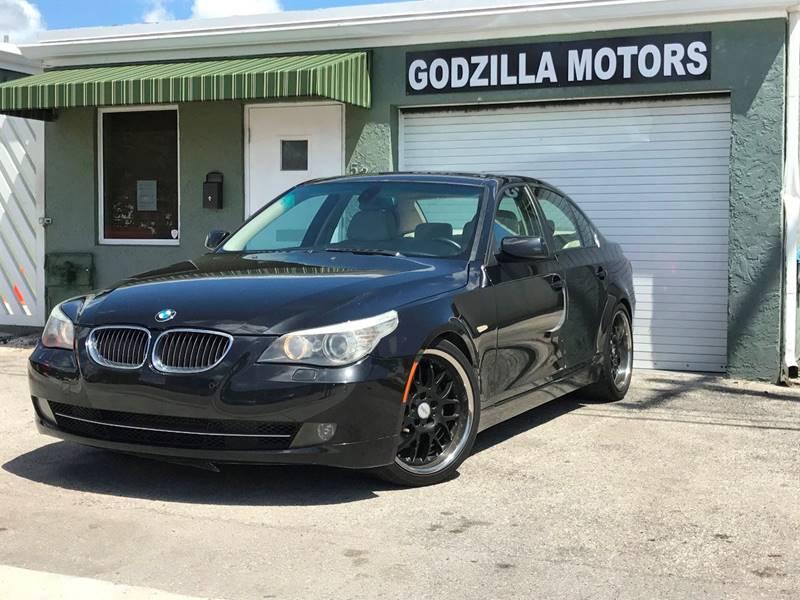 2010 BMW 5 SERIES 535I 4DR SEDAN black exhaust - dual tip door handle color - body-color exhaus