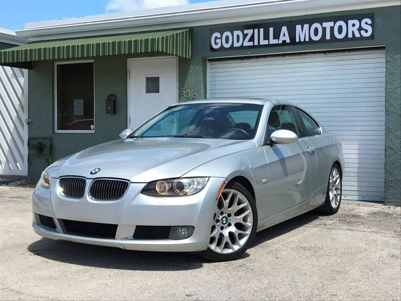 2007 BMW 3 SERIES 328I 2DR COUPE titanium grille color - chrome air filtration - active charcoal