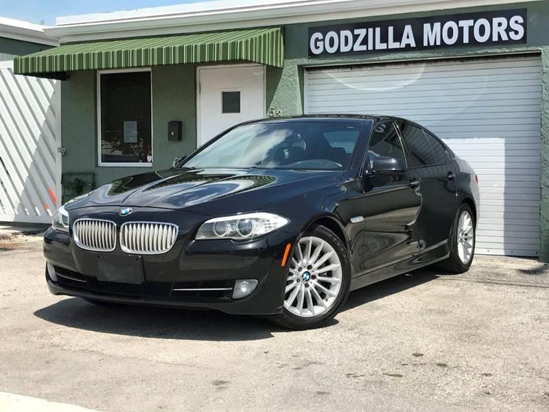 2012 BMW 5 SERIES ACTIVEHYBRID 5 4DR SEDAN black exhaust - dual tip door handle color - body-col