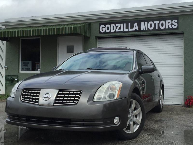 2006 NISSAN MAXIMA 35 SL charcoal this one is ready to drive home and show off dont wait to
