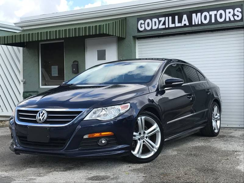 2012 VOLKSWAGEN CC R LINE 4DR SEDAN 6A blue this one is ready to drive home and show off   d