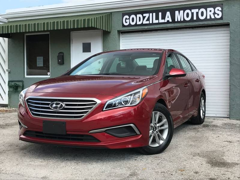 2016 HYUNDAI SONATA SE 4DR SEDAN PZEV red this one is ready to drive home and show off   don