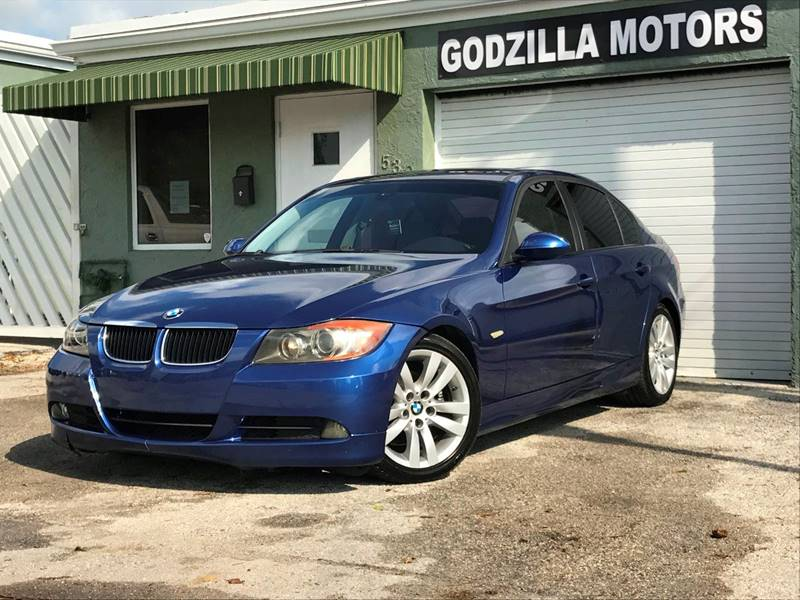 2007 BMW 3 SERIES 328I 4DR SEDAN blue this one is ready to drive home and show off   dont wa