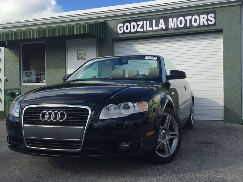 2007 AUDI A4 20T QUATTRO AWD 2DR CONVERTIBLE black this amazing 2007 audi a4 contains clean tit