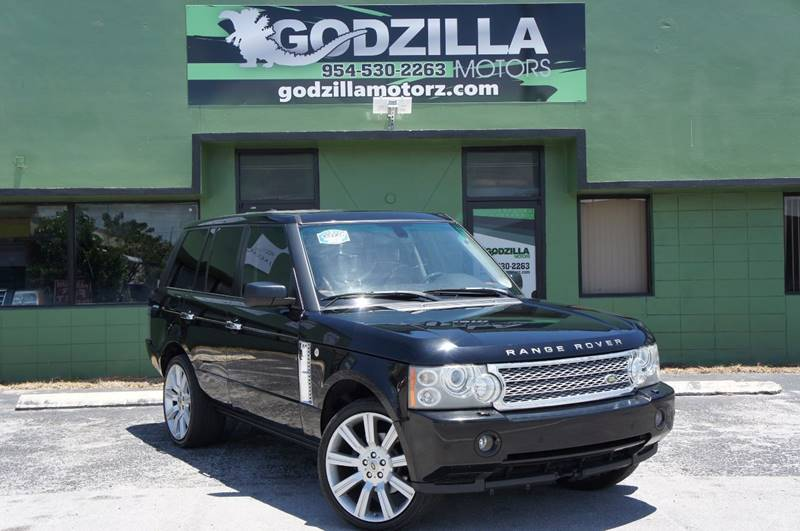 2006 LAND ROVER RANGE ROVER HSE black this amazing 2006 range rover contains clean title clean