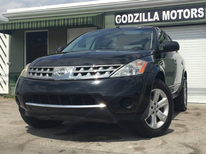 2007 NISSAN MURANO SL black this one is ready to drive home and show off  wait to call8663