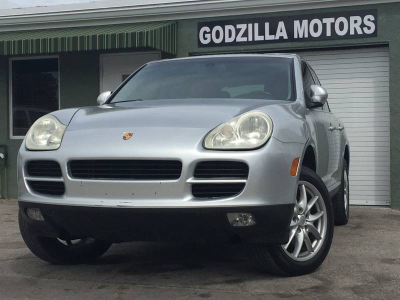 2004 PORSCHE CAYENNE S gray this one is ready to drive home and show off dont wait to call8