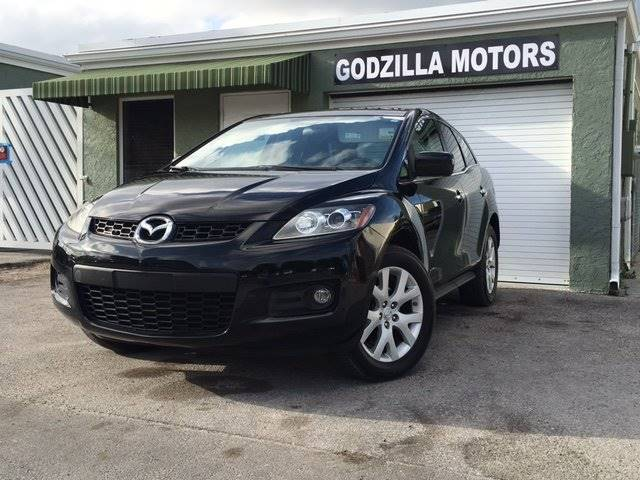 2008 MAZDA CX-7 GRAND TOURING black 2008 mazda cx-7 grand touring  automatic ac sunroof leat