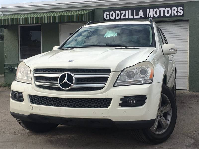2008 MERCEDES-BENZ GL-CLASS GL450 4MATIC white this one is ready to drive home and show off d