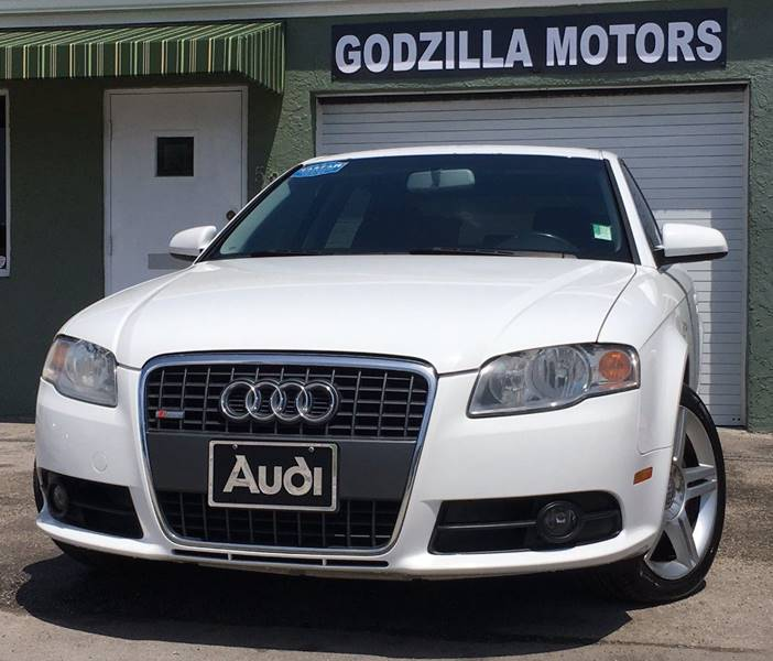 2008 AUDI A4 20T 4DR SEDAN 2L I4 6M white this one is ready to drive home and show off do